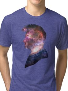 10th doctor galaxy design Tri-blend T-Shirt