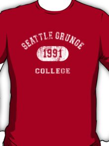 Grunge College T-Shirt