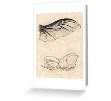 Rhinoceros Beetle Detail Greeting Card