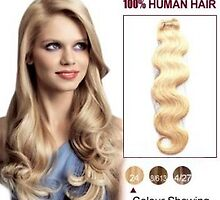 Cheap 12 Inch Ash Blonde Indian Remy Hair Wefts Body Wave On Sale by tiffanywuok1