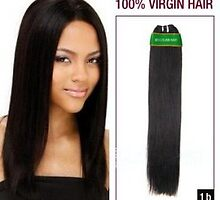 Discount 12 Inch Brazilian Virgin Hair Wefts Straight Natural Black On Sale by tiffanywuok1