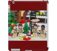 Ghostbuster Christmas Tree  iPad Case/Skin