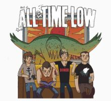 All Time Low Don't Panic Album Cover by marebear141