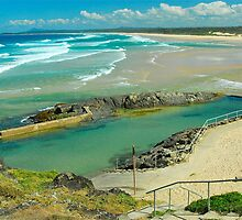 Sawtell Memorial Rock Pool by Penny Smith