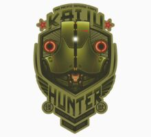 Kaiju Hunter Cherno STICKER by Bamboota