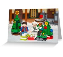 Mcfly Brown Xmas Greeting Card