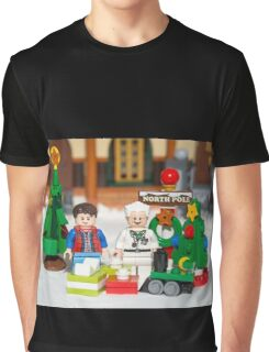 Mcfly Brown Xmas Graphic T-Shirt