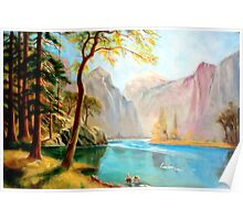 kerns river valley, california after Albert Bierstadt Poster