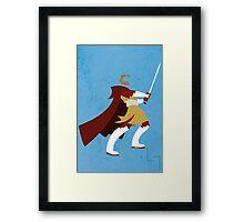 Obi-Wan Framed Print