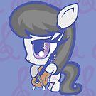 Weeny My Little Pony- Octavia Melody by LillyKitten