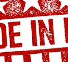 Made in the U.S.A Sticker