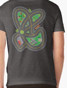 Drive on my back:  Mens V-Neck T-Shirt