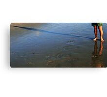 Shadow Play 4 with a Reflection Canvas Print