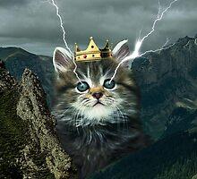 Lightning Cat by saboe