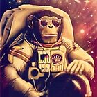Space Chimp by Marco Mitolo