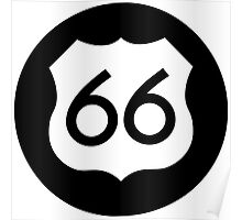 Route 66 Ideology Poster
