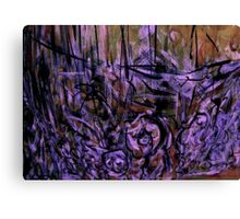 battle on.... appearance of spirits departed Canvas Print