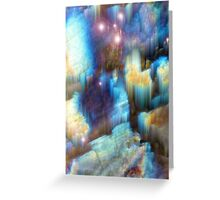 Emergence of light and color Greeting Card