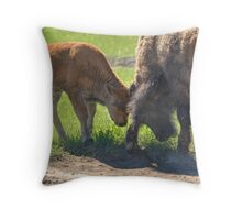 Little Big Bull - The Clash Throw Pillow