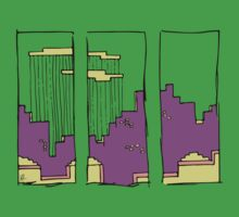 8-Bit Tri-City by Roesbery