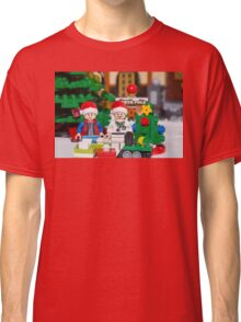 Doc and Marty North Pole Classic T-Shirt