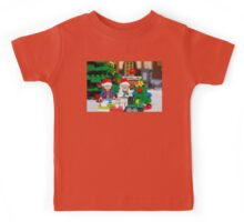 Doc and Marty North Pole Kids Tee