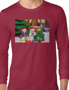 Doc and Marty North Pole Long Sleeve T-Shirt
