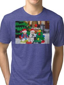 Doc and Marty North Pole Tri-blend T-Shirt