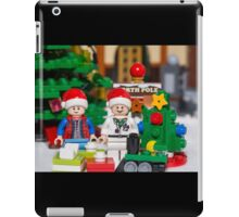 Doc and Marty North Pole iPad Case/Skin