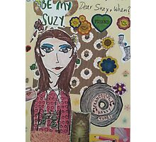 be my suzy Photographic Print