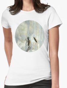 Broken matchstick Womens Fitted T-Shirt