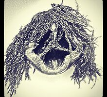 Shrunken Head by Hartzy