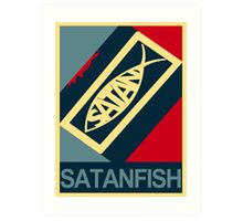 SATANFISH 1.0  Art Print