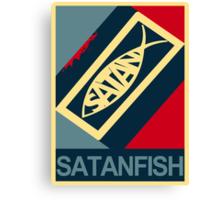 SATANFISH 1.0  Canvas Print