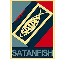SATANFISH 1.0  Photographic Print