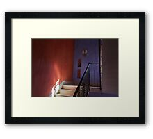 Italian Staircase Framed Print