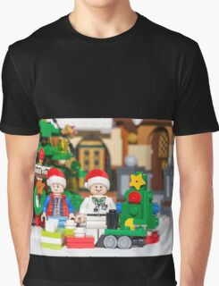 North Pole with Marty and Dov Graphic T-Shirt
