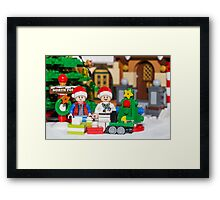 North Pole with Marty and Dov Framed Print