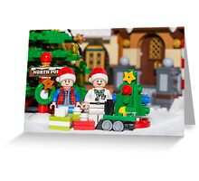 North Pole with Marty and Dov Greeting Card