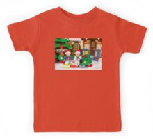 North Pole with Marty and Dov Kids Tee