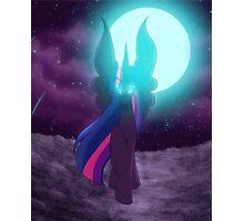 Nightmare Twilight Sparkle Photographic Print