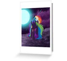 Nightmare Rainbow Dash Greeting Card