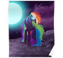 Nightmare Rainbow Dash Poster