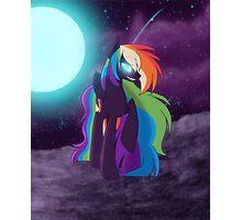 Nightmare Rainbow Dash Photographic Print