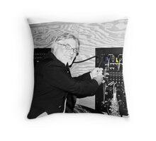 The Mad Scientist Throw Pillow