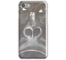 Grumpy gorilla  iPhone Case/Skin