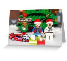 Marty and Doc get gifts Greeting Card