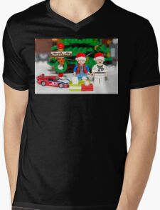Marty and Doc get gifts Mens V-Neck T-Shirt