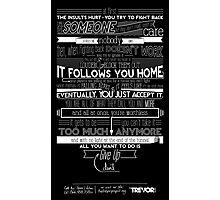 Trevor Project PSA Poster Photographic Print