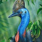 Sothern Cassowary ( endangered Species ) by owen  pointon
